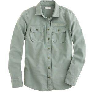 J. Crew Military Pocket Button Down Shirt